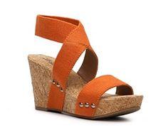 Lucky Brand Marinah Wedge Sandal #DSW #DSWShoeHookUp