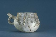 pottery cup with handle from Gotland (Historiska Museet) Hot damn, I've been looking for a better picture of this piece for ages.