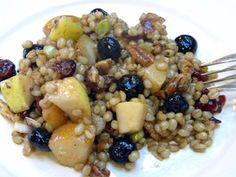 Fruity Wheat Berry Salad