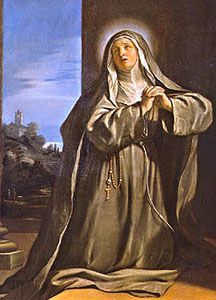 Saint Margaret of Cortona pray for us and against insanity, penitent women, reformed prostitutes and homeless people.  Feast day February 22.