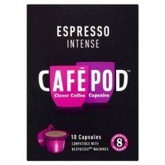 40 CAFEPOD NESPRESSO COMPATIBLE COFFEE CAPSULES INTENSE - http://thecoffeepod.biz/40-cafepod-nespresso-compatible-coffee-capsules-intense/