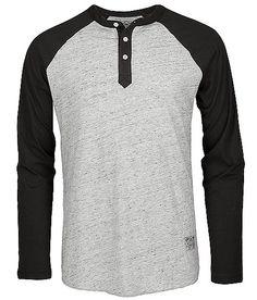 OBEY Henley Baseball Shirt