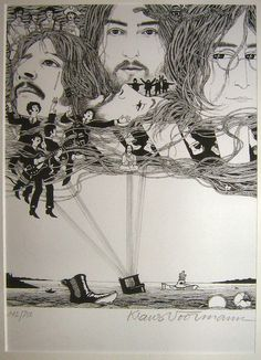 The Beatles Revolver cover art by Klaus Voorman The Beatles Tumblr, Beatles Love, Les Beatles, Beatles Art, Beatles Photos, Ringo Starr, Pop Rock, Rock And Roll, Classic Rock
