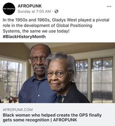 "127 Likes, 1 Comments - UndocuBlack Network (@undocublack) on Instagram: ""Did you know that a Black woman played a pivotal role in the creation of the Global Positioning…"""