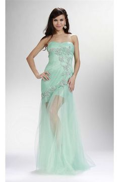 69 Best Long Mint Green Prom Dress Images In 2019 Green Ball