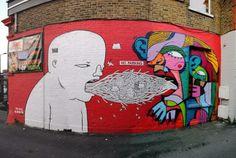 Τα ωραιότερα και πιο εντυπωσιακά γκράφιτι του Λονδίνου! Θαυμάστε την τέχνη του δρόμου που δεν περιορίζεται μέσα στους 4 τοίχους! (φωτό)