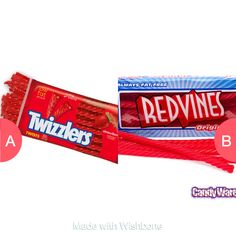 Twizzlers or Red vines Tap to vote http://sms.wishbo.ne/U1ak/mf3Mk8heat