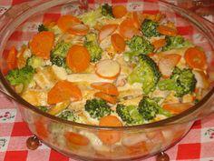 Süssünk, főzzünk valamit!: Brokkolis-sárgarépás csirkemell Sprouts, Keto, Vegetables, Food, Essen, Vegetable Recipes, Meals, Yemek, Veggies