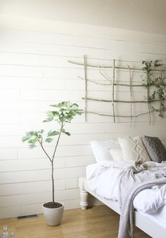 Vintage Whites Blog: Vintage Modern Bedroom Makeover with Cocoon by Sealy + a giveaway!