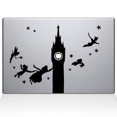 Find the Peter Pan Macbook decal at the Decal Guru online store.
