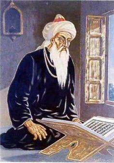 Farid reading the Quran