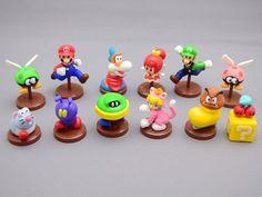 Super Mario 3D World Choco Egg figures 2nd Edition