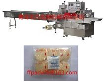 Full- Automatic Horizontal Servo Motor Flow Packing Machine for Bread, Snow Cake