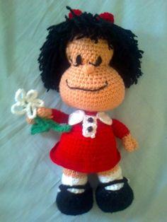 Amigurumi Xxl Patron : Mafalda Amigurumi ~ Patron Gratis en Espanol patrones ...