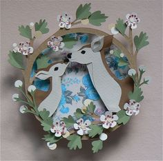 Helen Musselwhite - Doe and Fawn