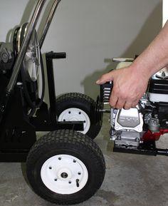 Texture Airless Sprayer Runner Series Convertible Machine