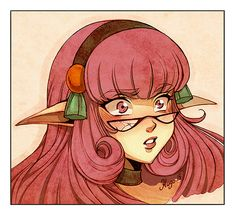 Cecile Corbel, Les Oeuvres, Delcourt, Anime, Fan Art, Poster, Lily, Sketches, Cartoon Sketches