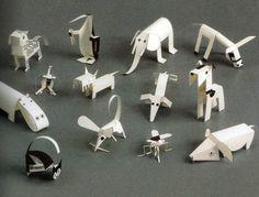 Paper animals by Antonio da Lara  credit: Los juguetes de las vanguardias (cat.exposicion) (español)