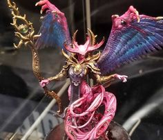 More Creature Caster Resin Beast Entries: Adepticon 2019 - Spikey Bits Female Monster, Monster Art, Warhammer Art, Warhammer 40000, Art Inspiration Drawing, Character Design Inspiration, Painting Competition, Weapon Concept Art, Fantasy Miniatures