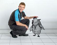 Digital Golem - British Gas Penguin