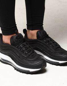 b23012ed693 Nike Women s Air Max 97 Black Black White