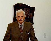 Seit dem Jahre 1979 bin ich POLITISCH ein Fan von Dr. HERBERT-HUPKA. / Dr. Herbert Hupka (CDU)