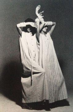 Issey Miyake ≈Oniyoryu Collection Spring/Summer  1975