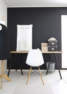 growing fond of a setup against a black wall