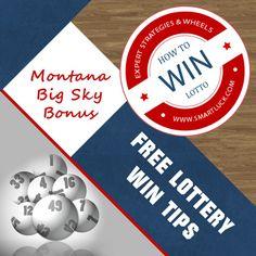 How to win Montana Big Sky Bonus lotto game - free strategies for winning