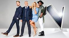 Four superstar coaches search for The Voice UK.