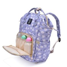 "Mummy Maternity Nappy Bag Large Capacity Baby Travel Backpack Designer Nursing for ""Buy One Get Six Free"" Travel Backpack, Travel Bags, Baby Travel, Baby Diaper Bags, Designer Backpacks, Traveling With Baby, Large Bags, Nursing, Maternity"