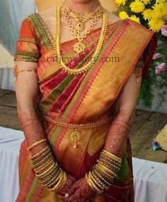 Jewellery Designs: South Indian Bride Traditional Jewelry