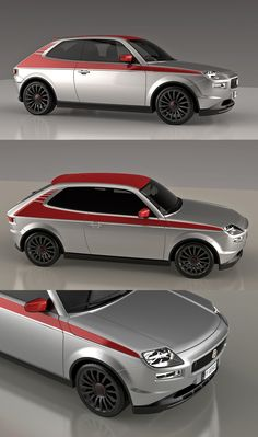 Fiat 127 Sport Abarth Concept by David Obendorfer