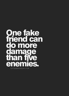 Indeed / just hire a few so called friends & see what the outcome is #backstabbing #fakes