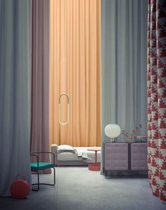 these curtains... photo by Beppe Brancato