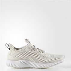 sports shoes 166e7 d14e1 Adidas Alphabounce EM Shoes (Chalk White  Running White  Pearl Grey)  Adidas Runners