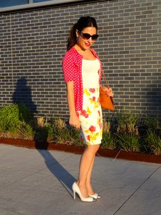 florals and dots: My Fash Ave