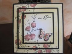 Penny Black Triple Layer Card
