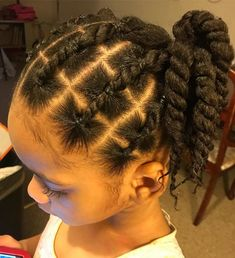 Braids for Girls: Gorgeous Braids for Girls Baby Girl Hairstyles, Natural Hairstyles For Kids, Kids Braided Hairstyles, Beautiful Hairstyles, Black Toddler Girl Hairstyles, Little Girl Braids, Girls Braids, Curly Hair Styles, Natural Hair Styles