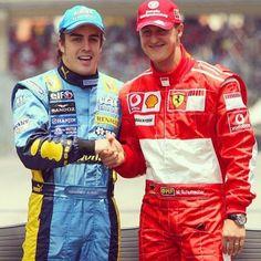 F. Alonso/M. Schumacher