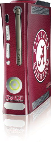 Amazon.com: Skinit University of Alabama Seal Vinyl Skin for Microsoft Xbox 360 (Includes HDD): Video Games