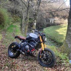 "rankxerox: ""• _cotarelo_Kawasaki Versys 650 by @_cotarelo_ @bikeexif """