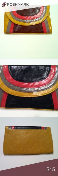 Purse with Gold Shoulder Strap Purse with Gold removable  Shoulder Strap or can be used as  Clutch Purse. ***15% Bundle Discount****Happy Poshing Bags Shoulder Bags