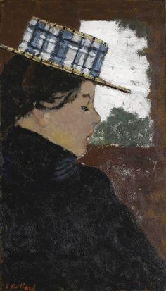jean-édouard vuillard(1868–1940), le canotier écossais, c. 1895. oil on board laid down on panel, 33.4 x 19.5cm. sotheby's