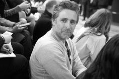 David Sims au défilé Céline automne-hiver 2014-2015 http://www.vogue.fr/mode/inspirations/diaporama/fashion-week-paris-les-coulisses-automne-hiver-2014-2015-jour-6-fw2014/17807/image/978414#!david-sims-au-defile-celine-automne-hiver-2014-2015