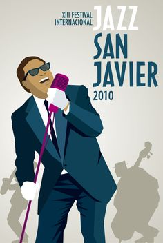 16 Ideas De Carteles Jazz San Javier Jazz Cartel Ilustración Musical