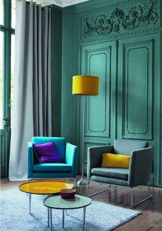 Royal green room