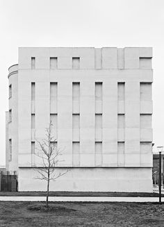 SWISS EMBASSY FACADE (1995-2000) by DIENER  DIENER picture taken by German photographer Christoph Engel. The original Swiss Embassy in Berlin was built in 1871 by Paul Baumgarten. It is the only prewar building - apart from the Reichstag - that remains in the area.