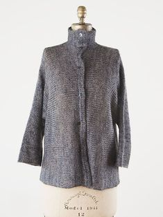 paper mohair jacket | setsuko torii