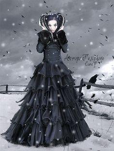 My first immortal winter II. by AtropoTesiphone.deviantart.com on @deviantART